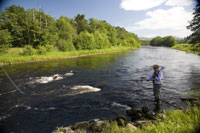 Scottish Highland Estate Corporate Team Building Events Corporate Days Salmon fishing